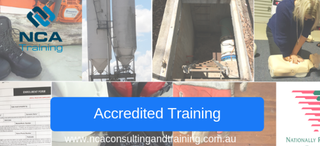 NCA Training Accredited training